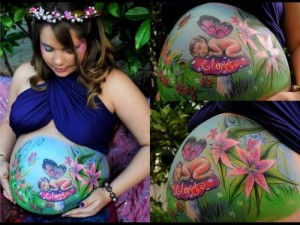 barrigas pintadas- belly painting